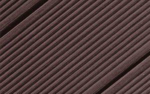 Juma Deck -komposiittilauta tummanruskeena