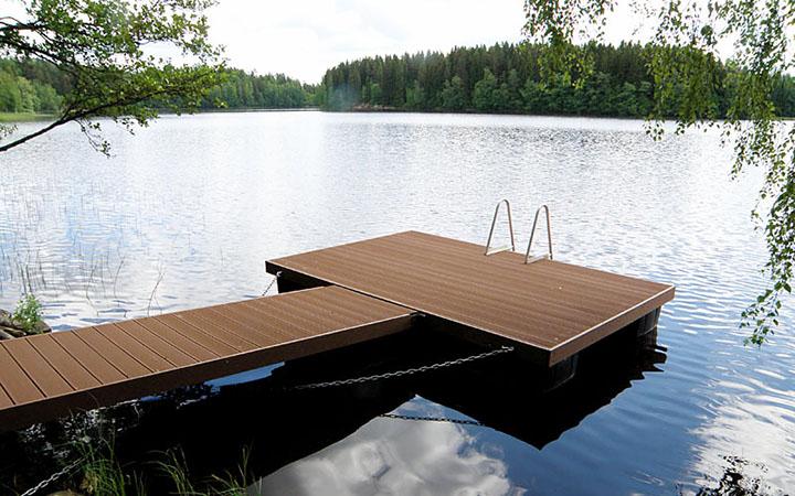Juma Deck-puukomposiittilaituri