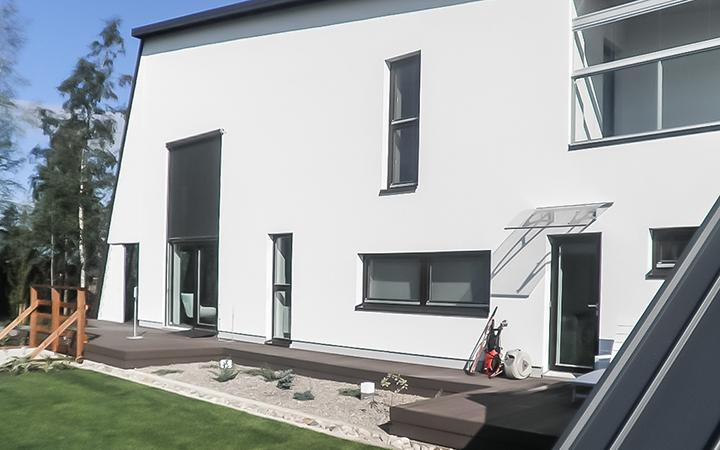 Juma Deck Komposiittilauta tummanruskea - Asuntomessuilla Jyväskylässä