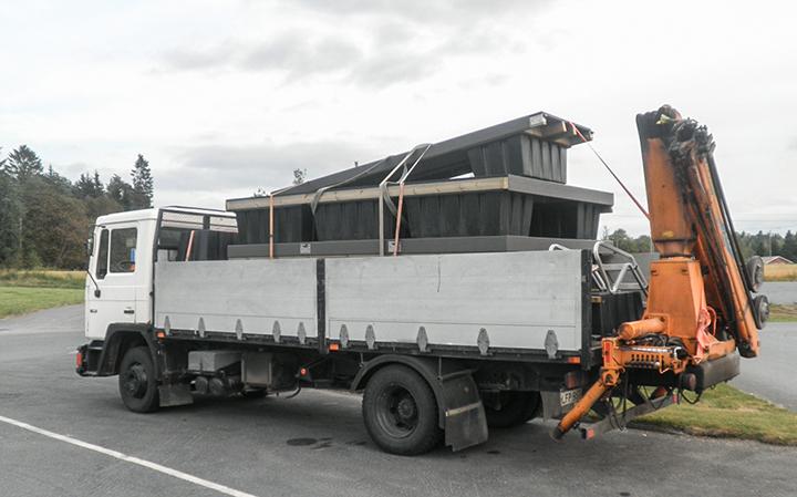 Juma Deck Komposiittilauta-laituri tupla-jytky matkalla maailmalle