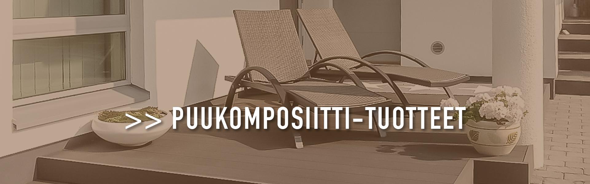 JUMA komposiittilauta - terassit mittatilaustyönä